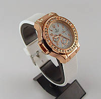 Часы женские наручные Hublot 012607 белые