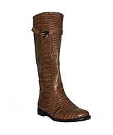 Женские кожаные сапоги от производителя
