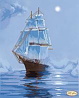 """Схема для вышивания бисером """"Морскими просторами"""""""