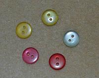 Пуговицы швейные  прозрачные   11 мм.