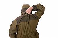 Костюм ГОРКА-3 , палаточной тканис накладками из кордуры и эвакуационной петлей.