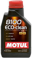 МОТОРНОЕ МАСЛО СИНТЕТИКА Motul 8100 ECO-CLEAN 5W30 (1л) Honda Toyota Subaru Renault Peugeot