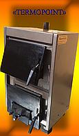 """Доступный котел для дома стальной твердотопливный """"Бритай"""" КОТВ-18 мощностью 18 кВт"""