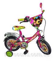 """Детский велосипед Маша и Медведь 16"""""""