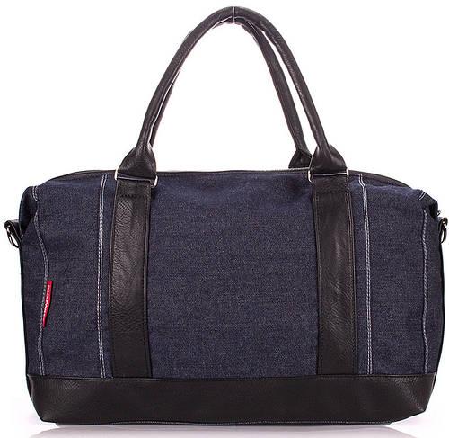 Джинсовая сумка мужская POOLPARTY DENIM BAG pool95-jeans синяя