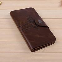 Хит продаж! Мужской кожаный кошелек,портмоне,бумажник. Кошельки для мужчин БАИЛИНИ.Лучший подарок.Код:КСЕ120