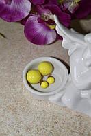 Серьги Mise en Dior (лимонные)