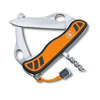 Victorinox Викторинокс нож Hunter XS 5 предметов 111 мм оранжево черный нейлон
