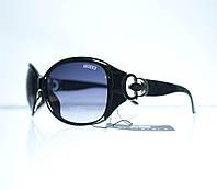 Очки женские Gucci солнцезащитные - Черные - 8181