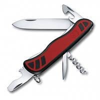 Victorinox Викторинокс нож Nomad 9 предметов 111 мм красно черный нейлон