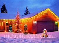 Новогодняя лампочная гирлянда 100 лампочек мульти