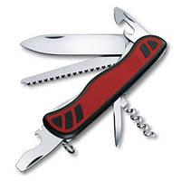 Victorinox Викторинокс нож Forester 10 предметов 111 мм красно черный нейлон