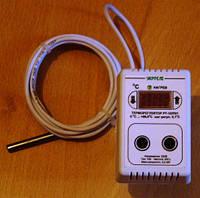 Терморегулятор с влагостойким датчиком РТ-10/П01В 10А.
