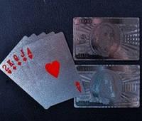 Карты игральные (Серебро) Доллар