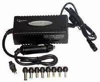 Автомобильное универсальное зарядное устройство для ноутбуков Gembird NPA-DC1 15V/16V/18V/19V/20V, 80W