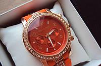 Женские Часы наручные MICHAEL KORS оранжевые