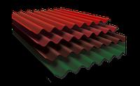 Шифер (8волн)  пигментированный (цвета:вишня, кирпич, шоколад) 1,13м*1,75м*5,8 Балаклея