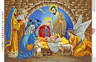 """Схема для вышивки бисером """"Народження Ісуса Христа"""""""
