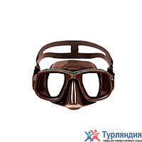 Маска для подводной охоты Omer Olympia Mask Коричневый