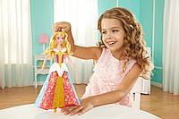 Кукла принцесса Аврора Дисней в платье, которое меняет цвет Спящая Красавица