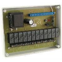 Супергетеродинный приемник-контроллер для управления шестью роллетами (воротами, рольставнями Elmes ST6HR-het