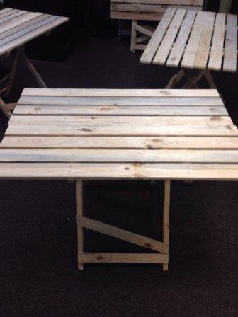 Стол для торговли раскладной деревянный
