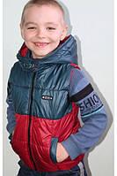 Детская жилетка разноцветная, фото 1