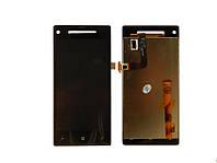 Дисплей для HTC Accord C620e / 8X Чёрный High Copy (с сенсорным экраном)