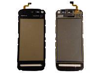 Сенсорный экран для Nokia 5800 Copy Black