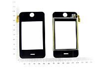 Сенсорный экран для китайского телефона iPhone №186 (Внешний размер 53x97мм)