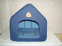 Домик для кошек и собак джинс