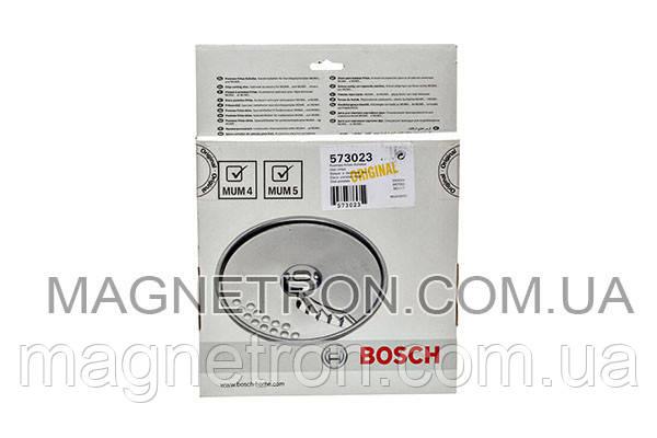 Диск для нарезки картофеля фри MUZ45PS1 для кухонных комбайнов Bosch MUM4, MUM5 573023, фото 2