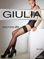 Женские чулки с самоудерживающимся кружевом 20 den ТМ Giulia