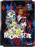 Папка картонная для труда на резинке KITE 2014 Monster High 213