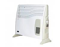Обогреватель тепловоздушный термия эвуа 2000 вт сп, серия комфорт, с терморегулятором, напольный / настенный