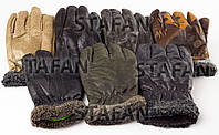 Мужские перчатки с утеплителем Tanya 01-04 Z. В упаковке 12 пар, фото 1