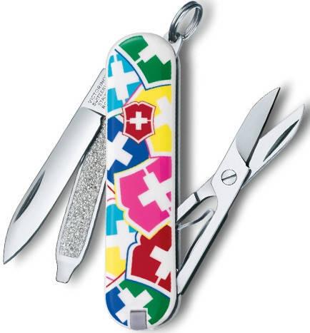 Функциональный нож-брилок Victorinox Classic VX Colors 06223.841