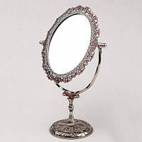 """Элитное зеркало """"Россыпи рубина"""" 31х20 см подарок для любимой"""