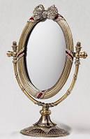 """Оригинальное зеркало """"Бантик"""" 18х25 см красивый подарок начальнику"""