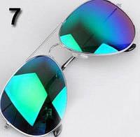 Очки № 7. Классический стиль - авиатор для мужчин и женщин.