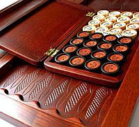 Подарки и сувениры, эксклюзивные нарды из натурального дерева