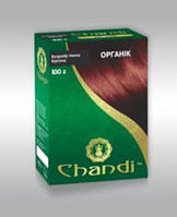 """""""Chandi"""". Краска для волос на основе натуральной хны. Серия """"Органик""""."""