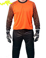 Детская (7-12 лет) футбольная вратарская форма ''CLIFF''- оранжевая, салатовая, голубая, желтая и др.