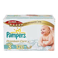 Pampers Premium care размер 3 (120 шт.)