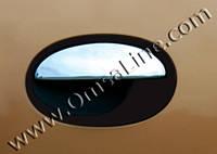 Накладки на дверные ручки Opel Corsa C (для 4-х дверей)
