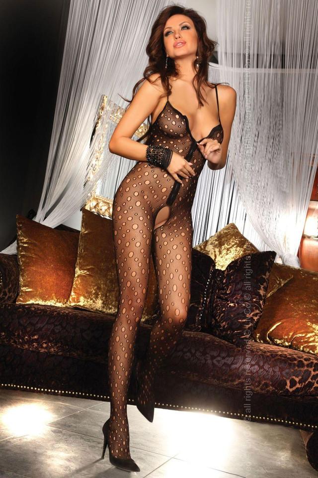 Эротическое костюм из цепей 14 фотография