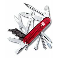 Victorinox Викторинокс нож Cybertool 34 предметов 91 мм красный полупрозрачный нейлон