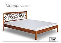 """Кровать деревянная""""Модерн"""" (с ковкой)"""