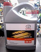 Масло моторное Toyota Motor Oil ✔ API SL 5W-30 ✔ 5л