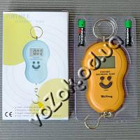 Электронные цифровые весы безмен кантер Electronic Scale WeiHeng с крючком до 40кг